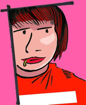 Drawing Of Im Pretty Badical Drawn By Mr Cute